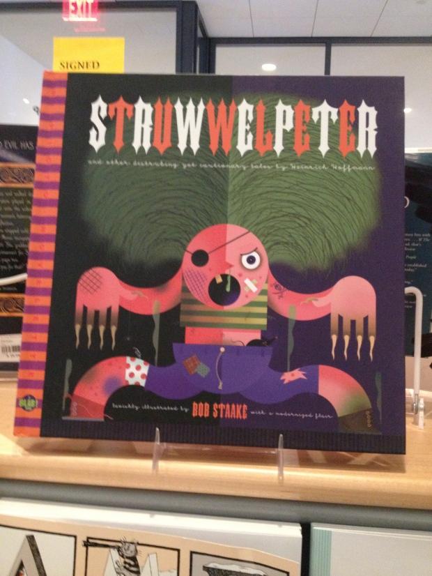 A modern retelling of Strewwelpeter