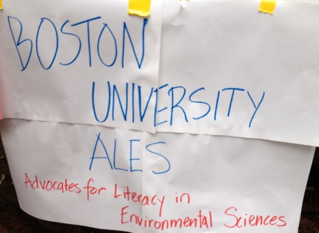 Boston University ALES: Advocates for Literacy in Environmental Science