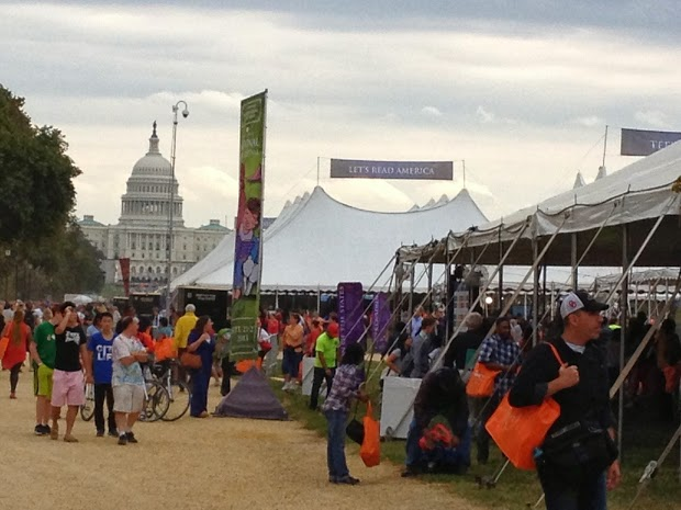 Let's Read, America!: The 2013 National Book Festival was a two-day celebration of American literary life.
