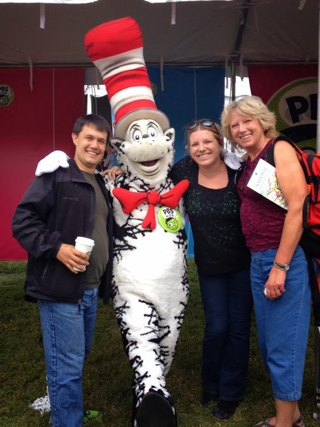 We added a new member to the Dines-Westervelt Family: The Cat in the Hat!