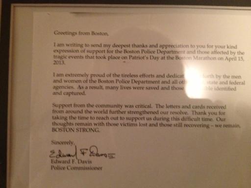 BPD Letter