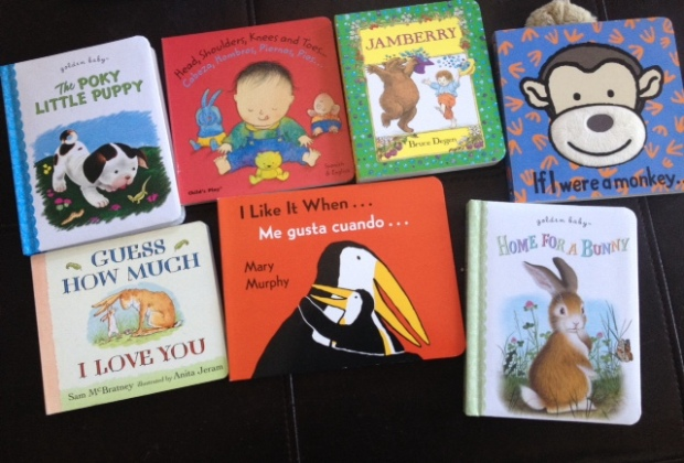 Board books - all from my teacher friends