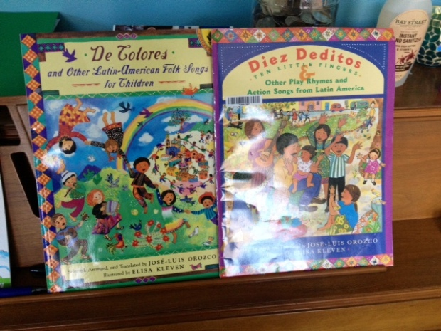 Sing Along Books by Mexican-American Author Jose Luis Orozco